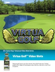 Virtua Golf™ Video Slots - IGT
