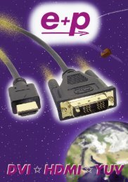 HDMI Katalog innenteil - e + p