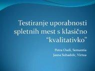 Petra Oseli, Semantia Jasna Suhadolc, Virtua - DMS