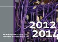 NU Information Technology Strategic Plan - Northwestern University ...