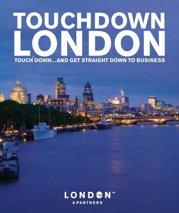Touchdown London - London & Partners