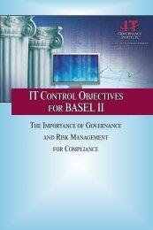 IT Control Objectives for Basel II - Oracle Independent Consultants ...
