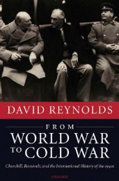 From World War to Cold War: Churchill, Roosevelt, and the ...