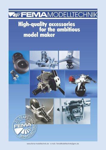 Catalogue (PDF) - FEMA Modelltechnik