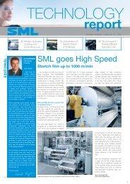 Stretch film up to 1000 m/min - SML