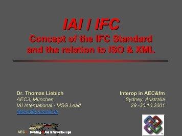 IAI / IFC - IT in Civil Engineering. Aalborg University