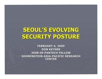 PDF: 090206_SEOULS_EVOLVING_SECURIT...pdf