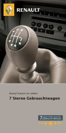 7 Sterne Gebrauchtwagen - bei Renault Skala