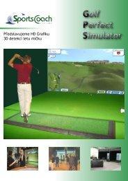 Golf Perfect Simulator Golf Perfect Simulator - Indoor Golf Ostrava!!!