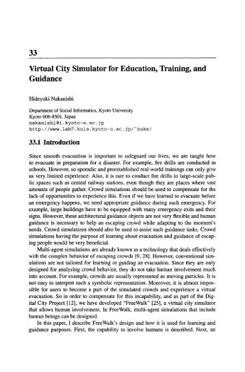 using virtual simulation for training and education essay Nursing research and practice is a education and training method educators and prior to the virtual simulations in the use of the tool and the.