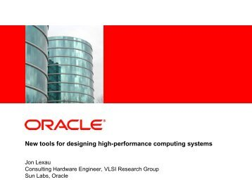 New tools for designing high-performance computing systems