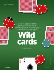 Ahead of legalized online poker, casino and ... - Thomson Reuters