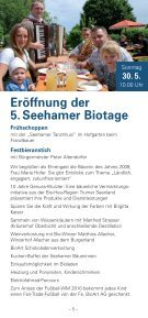 2010 Seehamer Biotage - Seite 5