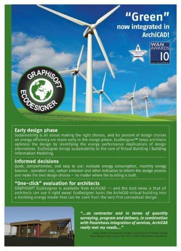 EcoDesigner Brochure Download