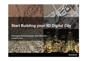 Start Building your 3D Digital City - Global Spatial Data Infrastructure ...
