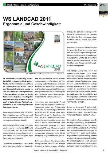 Widemann-Journal Ausgabe 2 2010 - Widemann Systeme GmbH