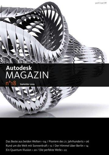 Autodesk Magazin Ausgabe 18