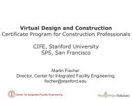 Virtual Design and Construction Certificate Program for Construction ...