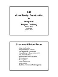 BIM Virtual Design Construction & Integrated Project Delivery