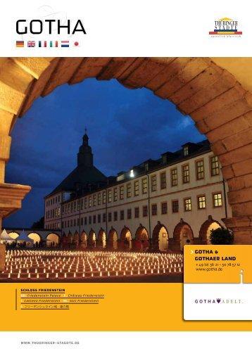 GOTHA GOTHA - Thüringer Städte