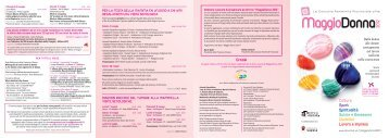 Calendario eventi MAGGIO DONNA 2012 - Varese Land of Tourism