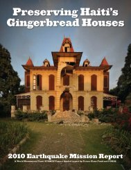 Preserving Haiti's Gingerbread Houses - World Monuments Fund