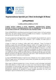 comunicato - Soprintendenza archeologica di Roma