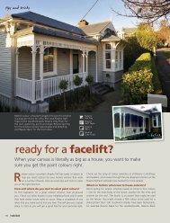 Ready For A Facelift? - Resene