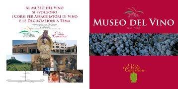 Il Museo del Vino di Villa Canestrari