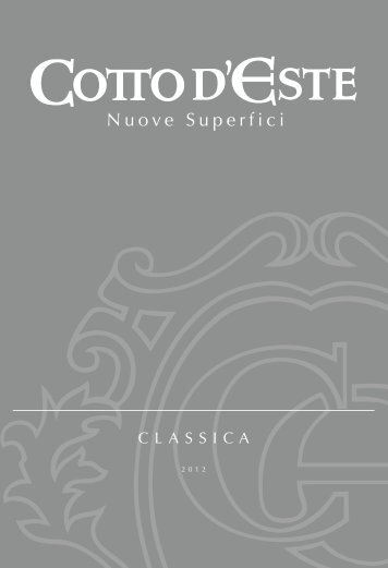 catalogo classica - Cotto d'Este