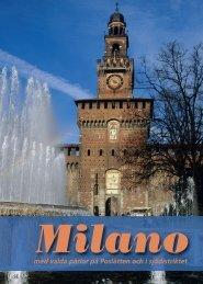 Milano - Italienska Statens Turistbyrå