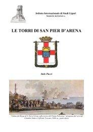 le torri di sampierdarena - Istituto Internazionale di Studi Liguri ...