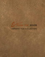 CERAMIC TILE COLLECTION - Emser Tile