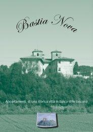 Appartamenti di una storica villa in tipico stile toscano - Bastia Nova