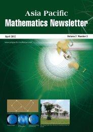 Mathematics Newsletter