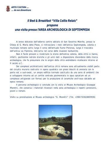 ARTE E CULTURA - Villa Collio