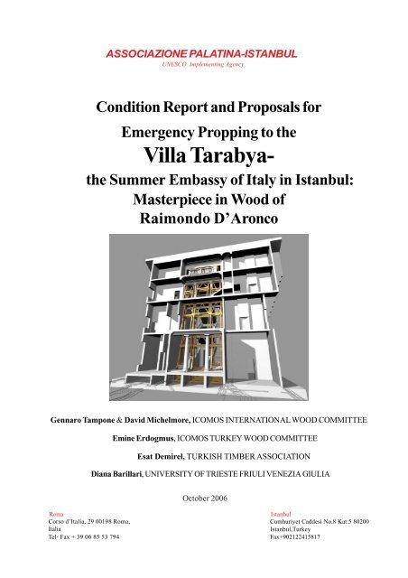 Villa Tarabya Istanbul Building Conservation Services