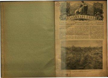 Vasárnapi Ujság 1900. 47. évf. 30. sz. julius - EPA