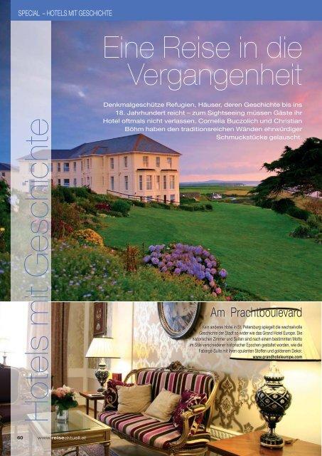 Hotels mit Geschichte - REISE-aktuell