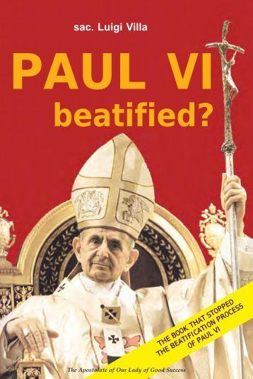 sac. Luigi Villa PAUL VI beatified? - Chiesa viva