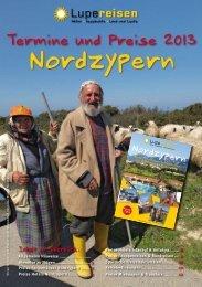 Nordzypern – Preise und Termine - Lupe Reisen