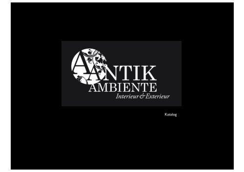 Katalog - antik-ambiente.de