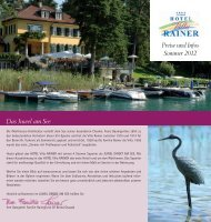 Download Prospekt - HOTEL Villa RAINER