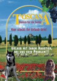 Katalog download - Vermittung von Toscana Ferienhäusern