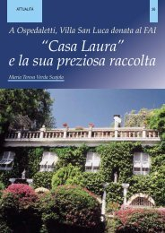 A Ospedaletti, Villa San Luca donata al FAI