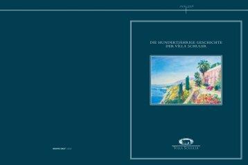 die hundertjährige geschichte der villa schuler - Hotel Villa Schuler