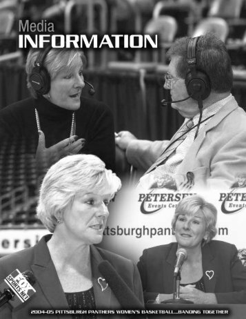 Media Information - Pittsburgh Panthers