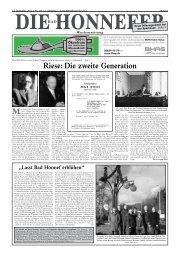 Riese: Die zweite Generation - Die Bad Honnefer Wochenzeitung