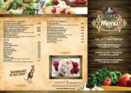 Download Menu - Wanneroo Villa Tavern