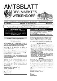 AMTSBLATT - FEN: Free-Net Erlangen-Nürnberg-Fürth e.V.